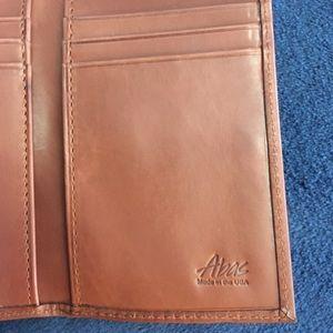 Abas classic bifold European leather card case